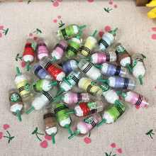10Pieces Flat Back Resin Cabochon Kawaii Logo Bottle Flatback Embellishment Accessories Scrapbooking Crafts Decoration:12*32mm