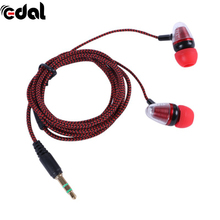 Super Bass Clear Voice Earphone Headset Mobile Computer MP3 Universal Earphone Cool Outlook(China)