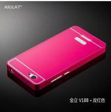 Free shipping Alunminum PC Metal Frame Rim Bounding Box phone case cover for Allview P6 Energy / For Gionee marathon M3