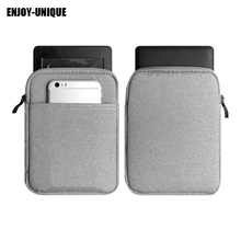 ENJOY-UNIQUE Universal Sleeve bag case pouch cover for 6inch ereader for kindle/Sony/kobo Canvas Sleeve bag(China)