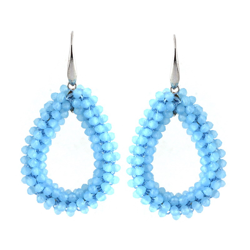 Earrings Lt Blue