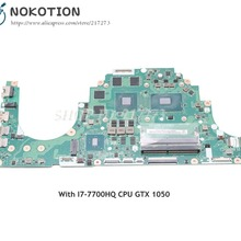 NOKOTION Acer aspire VX5-591 VX5-591G Laptop Motherboard I7-7700HQ CPU DDR4 GTX 1050 C5PM2 LA-E361P MAIN BOARD