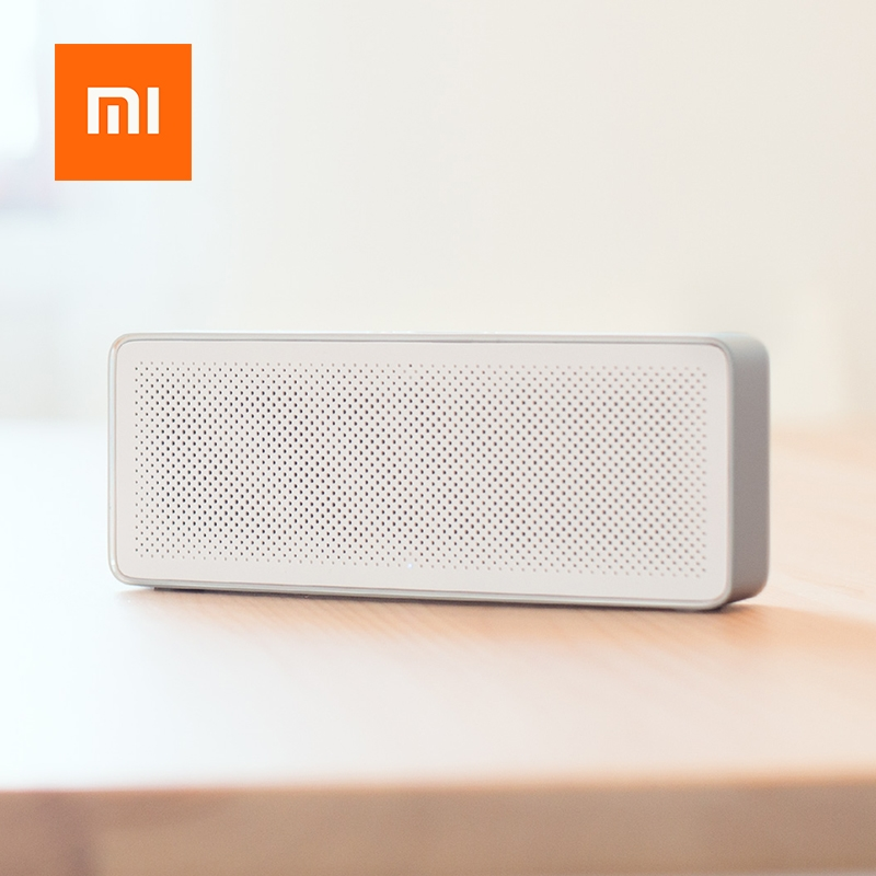Xiaomi Square Box Speaker 2 Portable Wireless Bluetooth Mini Handsfree Call USB Amplifier Stereo Sound Box Portable MP3 Player (1)