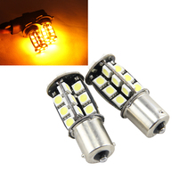 2017 New Products 2x 1156 30 SMD 5050Led Auto Car Lighting Bulbs S25 BA15S BAY15S BAU15S Socket Ultra Bright White Red Yellow