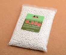 ICS Airsoft BB Paint balls cal 6mm 0.2g/each 4000PCS/package RBO M6300(China)