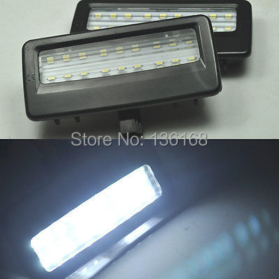 Free Shipping 2xError Free LED SMD vanity mirror visor light For Bmw F10 F11 F07 F01 F02 F03<br><br>Aliexpress