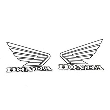 11*9cm VINLYTANK COVER DECALS FOR  HONDA WING CBR600RR CBR1000RR CB600 CBR250R ATV MOTORCYCLE ALL MODELS TANK STICKERS