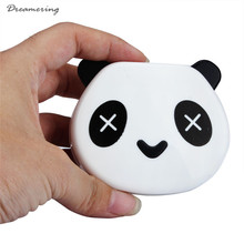 Hot Sale Cartoon Panda Candy Color Contact Lens Box Case For Eyes Care Kit High Quality Free Shipping,Dec 6