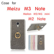 KOSDONO soft TPU Silicone case for Meizu meilan M2 M3 Note M5 MINI shockproof MX5 MX6 PRO5 PRO6 MAX cover Ring holder casing