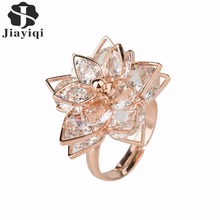 Buy New Brand Rose Gold color Rings Fashion Women Best Women Summer Rings Zircon Rings Jewelry 2017 for $2.34 in AliExpress store