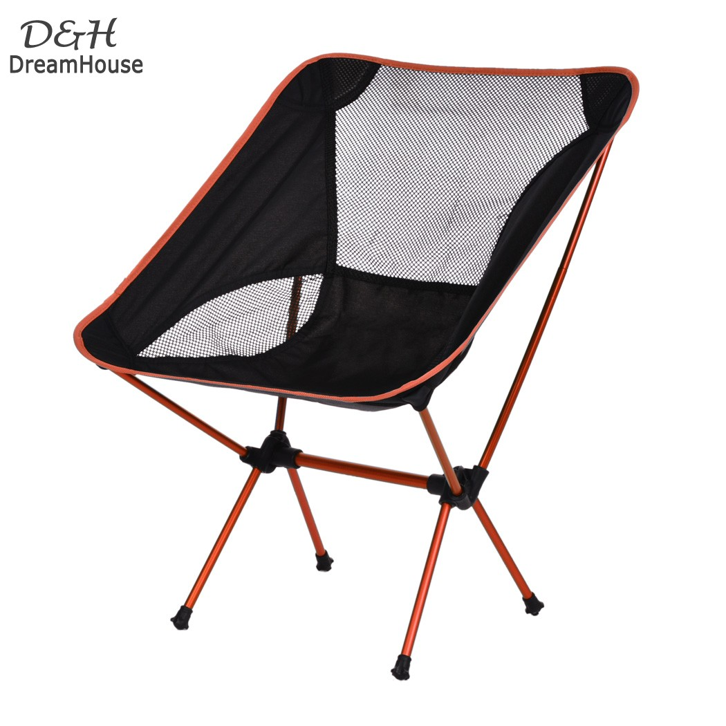 Lightweight Outdoor Aluminum Square Portable Foldable Folding Fishing Chair Tool Camping Stool for picnic BBQ beach chair 22<br><br>Aliexpress