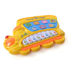 Multifunction fancy baby infant children toy animal farm music toy piano/keyboard(China)