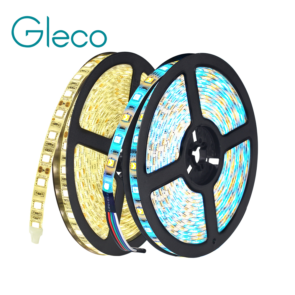 DC12V 5M LED Strip 5050 RGB,RGBW,RGBWW 60LEDs/m Flexible Light 5050 LED Strip RGB White,Warm white,Red,Blue,Green