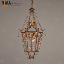 2015 classical cage pendant lamp fancy light for study room in factory price(China)
