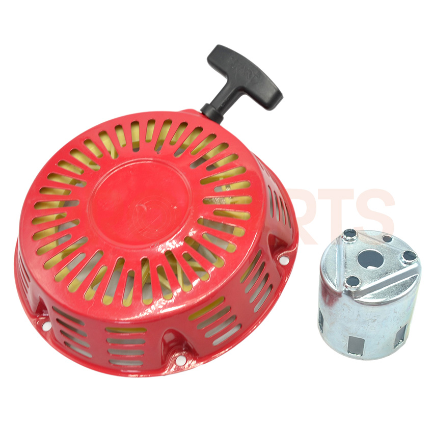 Recoil Starter Cup Hand Recoil Pull Starter Assembly Fit For Honda GX340 11HP GX390 13HP Generator Pump Engine Parts<br>