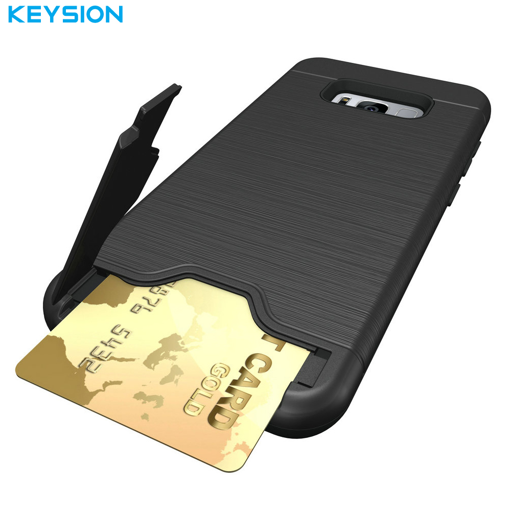 KEYSION Case for Samsung Galaxy S8 S8 Plus Back Cover Dirt Resistant Silicon Phone Bags Cases for Samsung S8 Dream Project Dream(China)