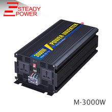 3000w water pump must power inverter solar 12v 24v 220v 3000w modified sine wave ac inverter(China)