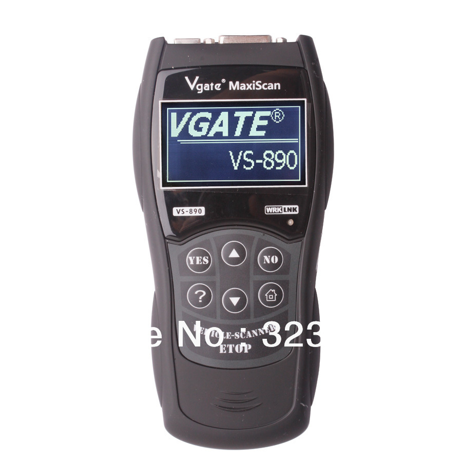 Vgate Scantool Maxiscan VS890 with ISO 15031and  SAE J1979  supports up to 13 languages<br>
