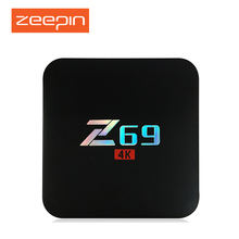 Z69 Android 6.0 TV Box Amlogic S905X 1GB 2GB 16GB Quad Core Smart HDMI 4K*2K HD Set Top Media Player pk A95X - Home Trends store