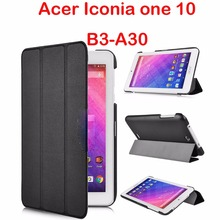 case for acer Iconia one 10 B3-A30 Iconia one 10 B3-A30 10.1'' PU leather folio protective cover case for Acer tablet 10.1