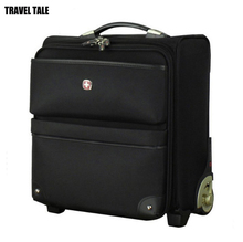 TRAVEL TALE 16 inch swissgear fix casters men carry on cabine luggage busy board luggage
