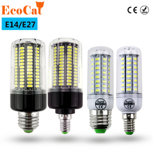 ECO CAT LED lamp E27 E14 3W 5W 7W 12W 15W 18W 20W 25W SMD 5730 Corn Bulb 220V Chandelier LEDs Candle light Spotlight