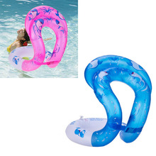 Adult Kids Swim Ring Aquatic Float Inflatable Tube New Pool Swim Aid Vest float seat Arm floats Circle(China)