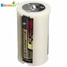 Hot-sale BINMER Battery Box Gifts Wholesale 2PCS Parallel Battery Adapter Holder 1.5V Output Case Box Convert 3 AA To 1 D Size