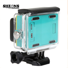Hot 40 Meter Waterproof Case For Xiaomi Xiaoyi Action Sport Camera Xiaomi yi Case Diving Case for Xiao yi Accessories Waterproof