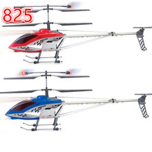 super Big Size rc helicopter 105cm 825 3 Ch Metal Frame RTF with Gyro with LED lights toys ready to fly vs QS8005(China)