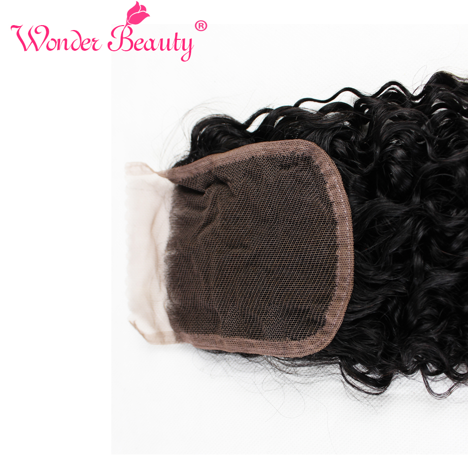 Wonder-Beauty-Peruvian-Virgin-Hair-With-Closure-Kinky-Curly-4pcs-Wet-And-Wavy-Bundles-With-Closure (5)