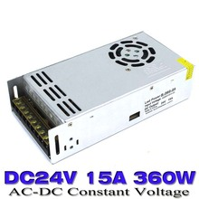 360W 24V 15A Single Output Switching power supply DC24V Led Driver Transformer AC to DC smps For Strip Lamp CNC CCTV 3D Motor