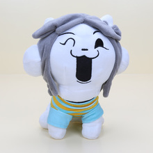 Animation Plush Dolls For Kids gift  Undertale Hot Game plush Cute TEMMIE Plush Stuffed Doll Toys  Japan Plush Lol