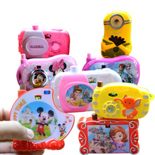 1pc Disney Elsa Toy Story Miniature Projection Camera for Children  Kids Personalized Birthday Gifts Toy Figures Kids Toys