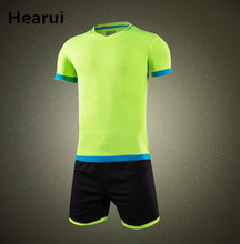 Hearui Customize Men's Soccer Jerseys sets Soccer Suits High Quality Soccer Training Uniforms For Adult/KIds Sportswear