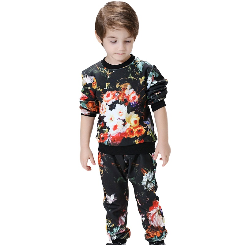 Free Shipping Big Boys Clothing Set Autumn Sport Suit Kids Boys Clothing Winter Clothing Sets Sale Baby Kids Clothes<br>