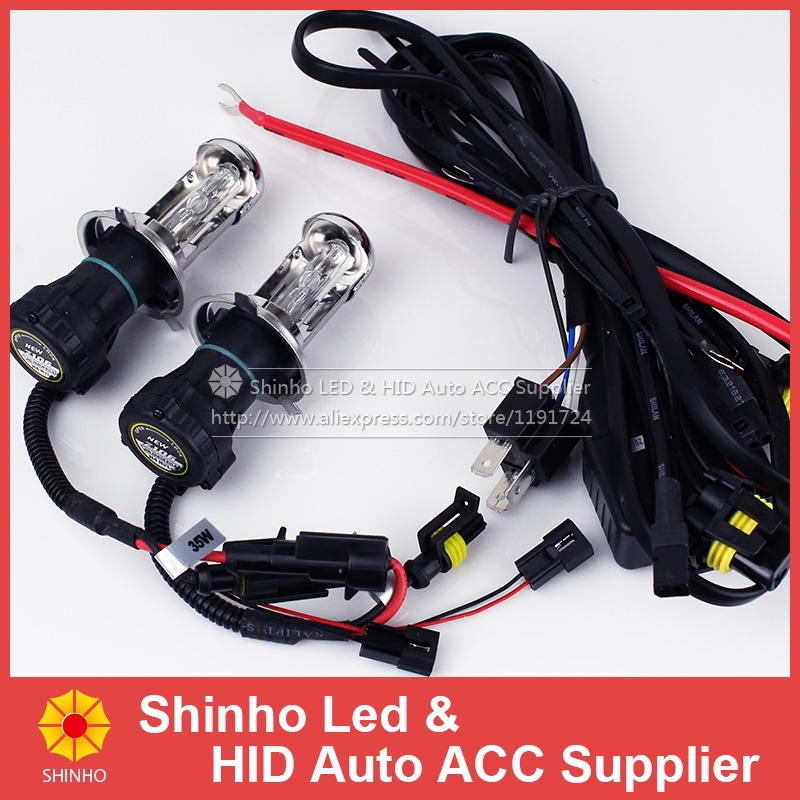 2X12V 55w H4 Xenon Bi-xenon Hi/Lo Bulb HID Bi Xenon Car Headlight H/L Beam H4-3 Replacement Light 3000K 4300K 6000K 8000K 10000K<br><br>Aliexpress