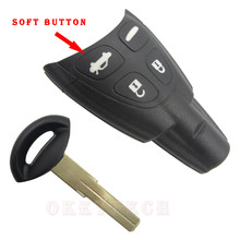 High quality Black Smart Remote Key saab smart card 4 Buttons Remote Key Shell Keyless Entry Fob Case Fit For Saab 93 95 9-3 9-5