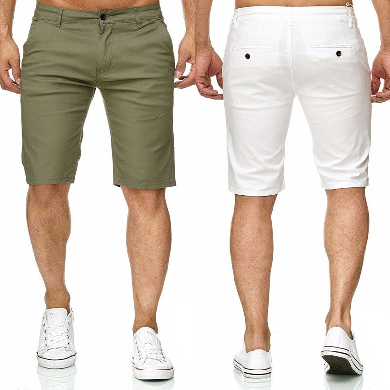 Trousers Shorts Breathable Unique Men's Summer Casual Stylish Fashion New Trend Solid title=