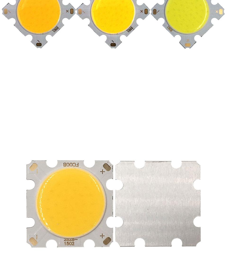 cob led 28mm square cob chip light bulb lamp 15W (2)