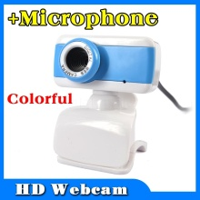 high definition Digital USB 5.0 MegaPixel Webcam Stylish Rotate Camera HD Web Cam Mic Microphone for PC Laptop Notebook Computer