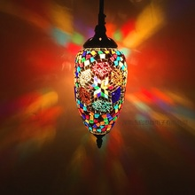 New Style Turkey ethnic customs handmade lamp romantic cafe restaurant bar tree pendant lighting bar pendant light