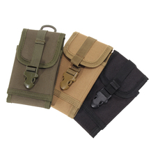 Tactical Phone Bag Army Green Waist Bags Men Military Molle Backpack Hanging Sport Pouch Waterproof Hunting Belt Bags
