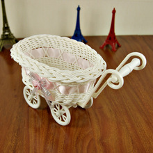 rattan storage basket basket Cosmetic small objects placed handicraft gift boutique small wicker baskets gift bask(China)