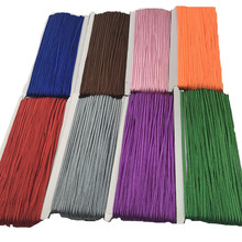 34 yards/lot(31 meters) 3mm Chinese Soutach Cord Multi Colors Nylon Rope Snake Belly Cords for DIY Jewelry Making Findings Z490(China)