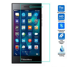 for BlackBerry Leap Black Berry Real Premium Ultra Thin 0.26mm Tempered Glass Screen Protector Film No Bubble