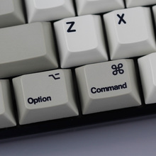 ENJOYPBT MAC Keycaps Commond And Option Keys Dye-Sublimation Cherry MX Key Caps For MX Switches Mechanical Gaming Keyboard(China)