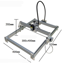 DIY USB Laser Engraver Laser machine Marking Machine Plotter 30*40cm1000mw Accuracy: 0.1MM 12V
