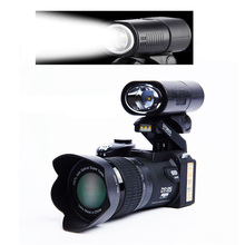"POLO D7200 Digital Camera 16MP 3.0"" 1080P HD Camcorder 24X Optical Zoom Telephoto Lens Wide Angle Lens Video Camera"