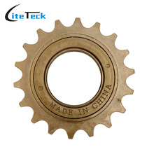 Durable 18T Single Speed Freewheel Mountain Bike Bicycle Flywheel Cassette Tool Bicicleta Parts Brown